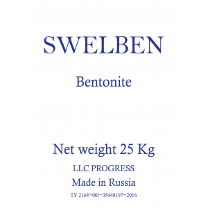 Бентонит «SWELBEN Plus» (тонна)
